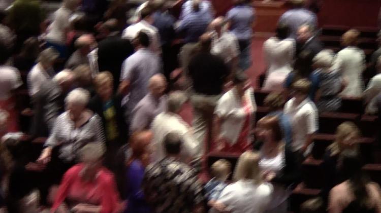 Congregation-blur